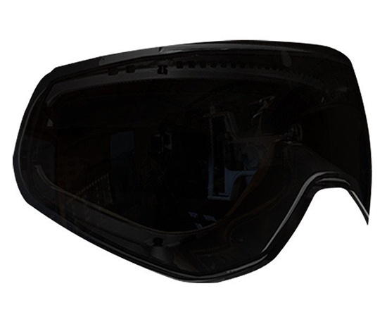HK Army Dual Pane Anti-Fog Ballistic Rated Thermal Lens For KLR Masks (Stealth Smoke)