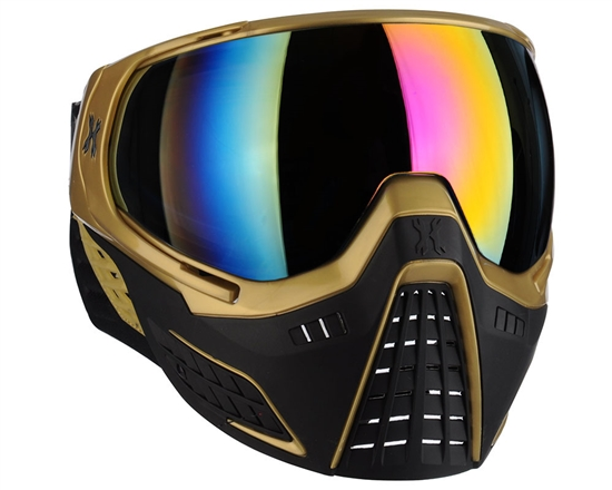 HK Army Tactical KLR Full Face Airsoft Mask - Metallic Gold