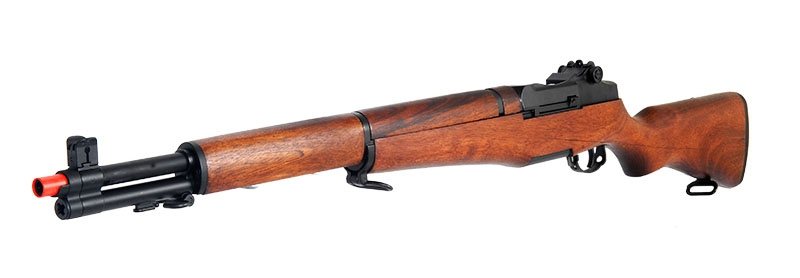 Ics Wwii M1 Garand Real Wood Full Metal Gearbox Airsoft