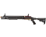 Jag Arms Gas Airsoft Scattergun SP Shotgun - Black