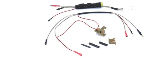 JGM 76 2 jg airsoft mosfet w pre measured wire & m4 aeg trigger switch Airsoft M16 at reclaimingppi.co