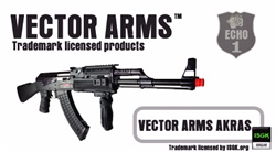 ECHO 1 AK47 RIS Airsoft Metal Body Gun Vector Arms AEG Rifle