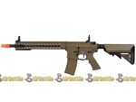 JP-95 Echo1 Knights Armament SR-16E3 Carbine MOD2 KeyMod AEG Tan