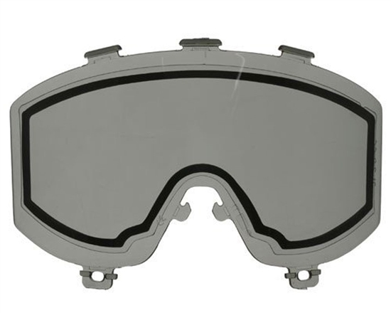 JT Dual Pane Anti-Fog Ballistic Rated Thermal Lens For Elite Style Masks (Smoke)
