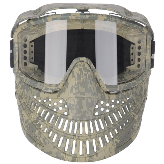 JT Tactical Elite Raptor Full Face Airsoft Mask - Camo