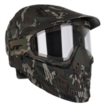 JT Tactical Flex 8 Full Head Complete Coverage Airsoft Mask - Camo