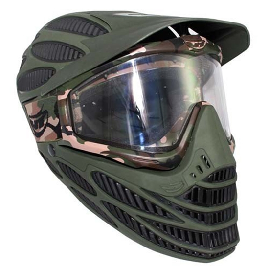 JT Tactical Flex 8 Full Head Complete Coverage Airsoft Mask - Olive