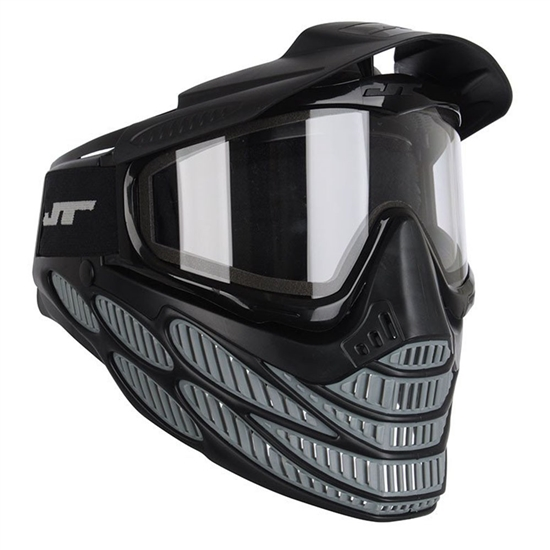 JT Tactical Flex 8 Full Face Airsoft Mask - Grey