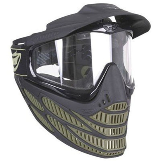 JT Tactical Flex 8 Full Face Airsoft Mask - Olive