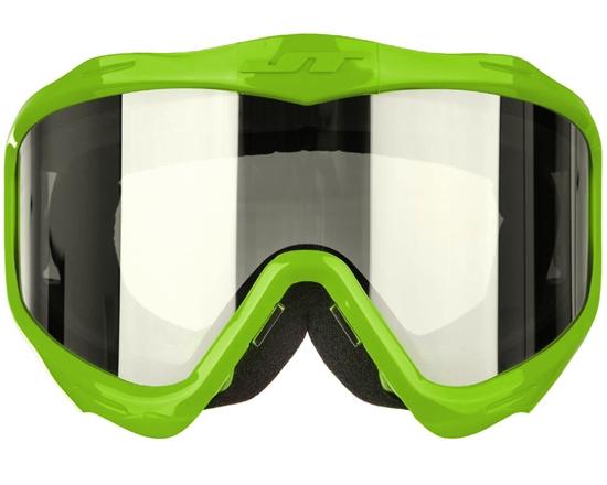 JT Tactical Airsoft Frame & Chrome Lens Only - Flex 7/Flex 8/ProFlex/Spectra - Lime