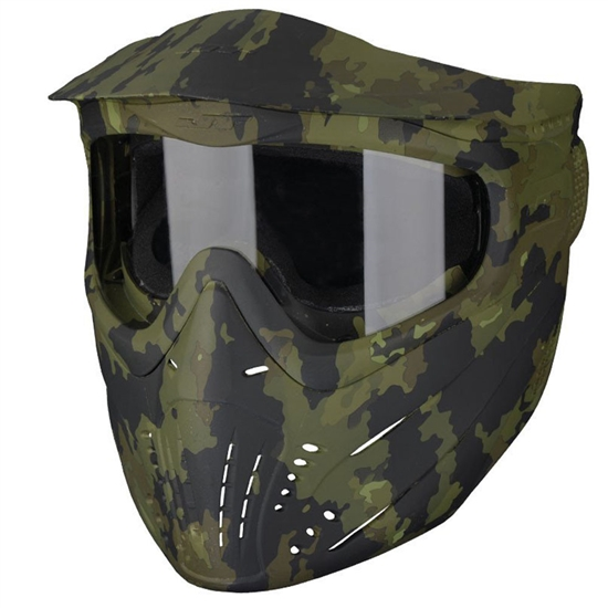 JT Tactical Premise Full Face Airsoft Mask - Camo