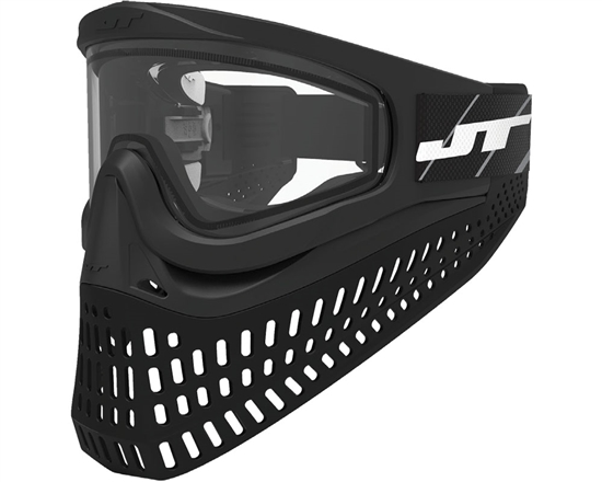 JT Tactical ProFlex X Full Face Airsoft Mask - Black