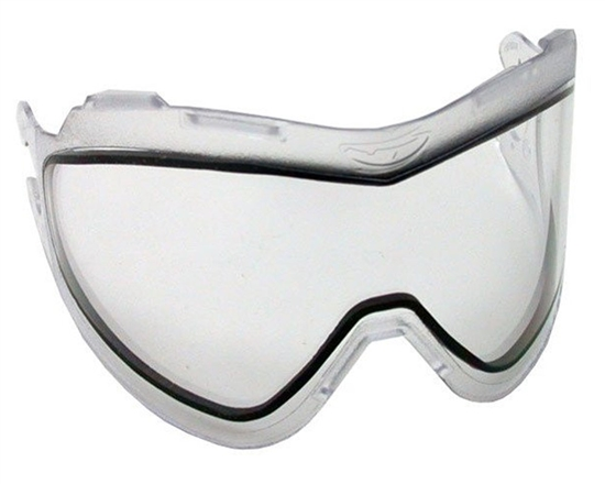 JT Dual Pane Anti-Fog Ballistic Rated Thermal Lens For QLS Style Masks (Clear)