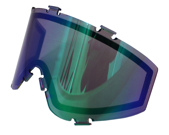 JT Dual Pane Anti-Fog Ballistic Rated Thermal Lens For Spectra Style Masks (Prizm 2.0 Fluorite)