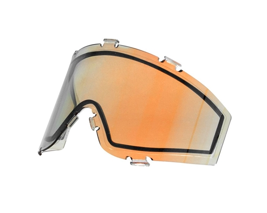 JT Dual Pane Anti-Fog Ballistic Rated Thermal Lens For Spectra Style Masks (Prizm 2.0 Lava)