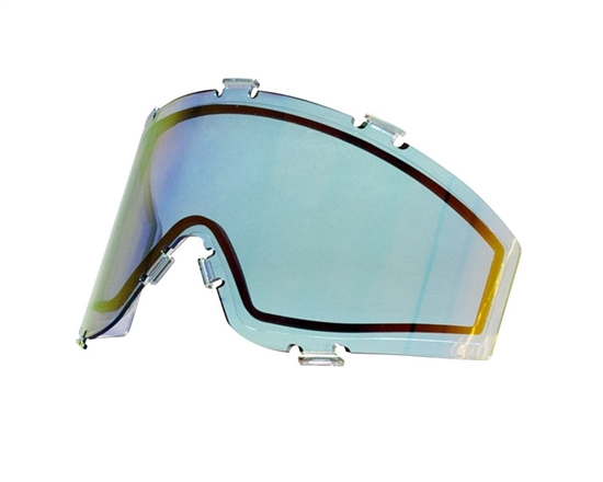 JT Dual Pane Anti-Fog Ballistic Rated Thermal Lens For Spectra Style Masks (Prizm 2.0 Sky)