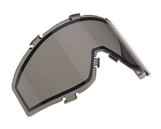 JT Dual Pane Anti-Fog Ballistic Rated Thermal Lens For Spectra Style Masks (Smoke)