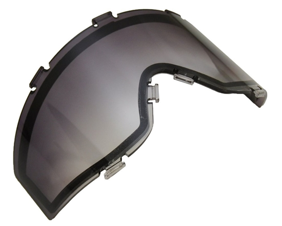 JT Dual Pane Anti-Fog Ballistic Rated Thermal Lens For Spectra Style Masks (Smoke Fade)