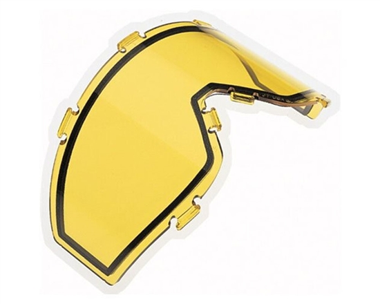 JT Dual Pane Anti-Fog Ballistic Rated Thermal Lens For Spectra Style Masks (Yellow)