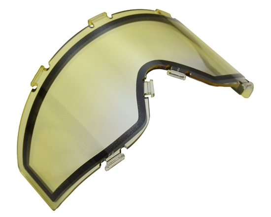 JT Dual Pane Anti-Fog Ballistic Rated Thermal Lens For Spectra Style Masks (Yellow Fade)