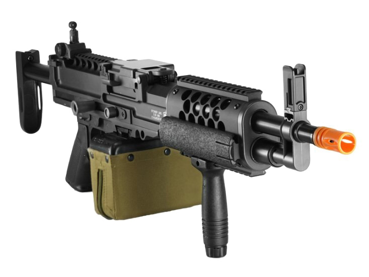 Knight's Armament Stoner 99 LMG Airsoft Full Metal Machine Gun