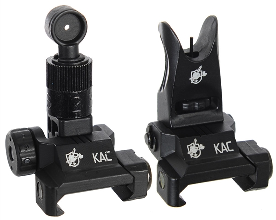 Knight's Armament Back Up Airsoft Iron Sights - Black