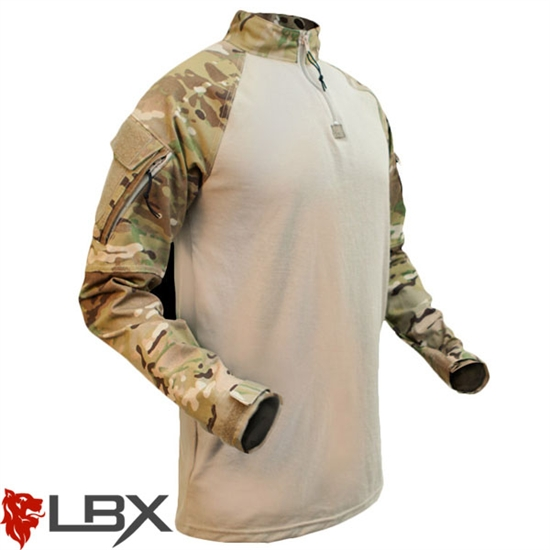 LBX-0080 LBX Tactical Assaulter Combat Shirt ( Multicam )