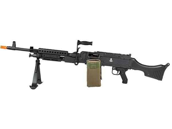 Lancer Tactical M240 Bravo HMG Automatic AEG Airsoft Gun