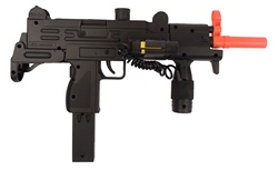 Double Eagle M35L Airsoft Gun Spring Uzi With Laser and Tac Grip