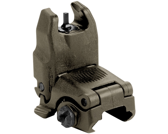 Magpul Front Sight - MBUS Flip-Up (Gen 2) - Olive Drab Green
