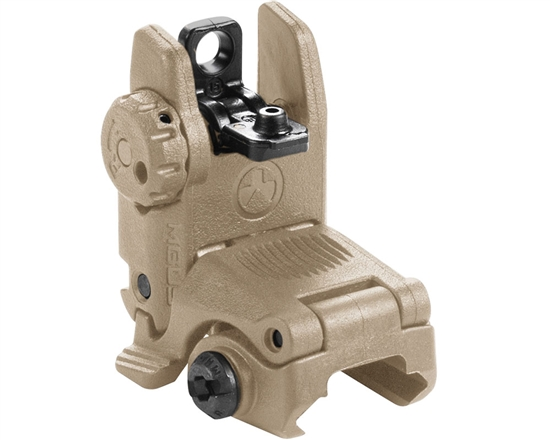 Magpul Rear Sight - MBUS Flip-Up (Gen 2) - Flat Dark Earth