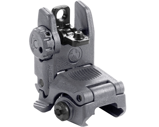 Magpul Rear Sight - MBUS Flip-Up (Gen 2) - Gray
