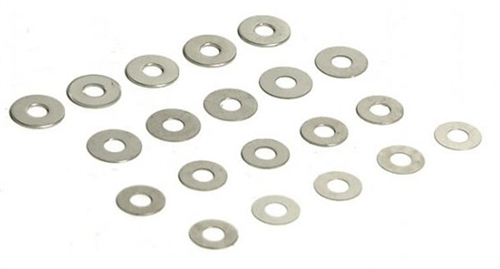 Madbull 20 Piece Shim Set for Metal Gearbox Airsoft AEG Gun