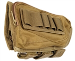 Modify Tactical Multi-Rifle Stock Ammo Pouch - Tan