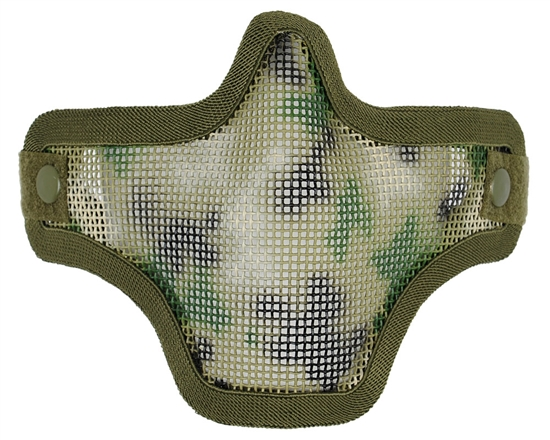 Bravo TacGear V1 Strike Steel Wire Mesh Airsoft Face Mask ( AR02 )