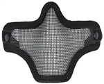 Bravo TacGear V1 Strike Steel Wire Mesh Airsoft Face Mask ( Black )