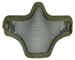 Bravo TacGear V1 Strike Steel Wire Mesh Airsoft Face Mask ( OD )