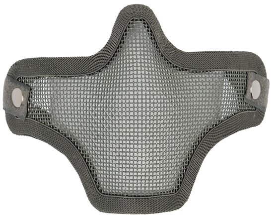 Bravo TacGear V1 Strike Steel Wire Mesh Airsoft Face Mask ( Ranger Green )