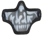 Bravo TacGear V1 Strike Steel Wire Mesh Airsoft Face Mask ( Skull )