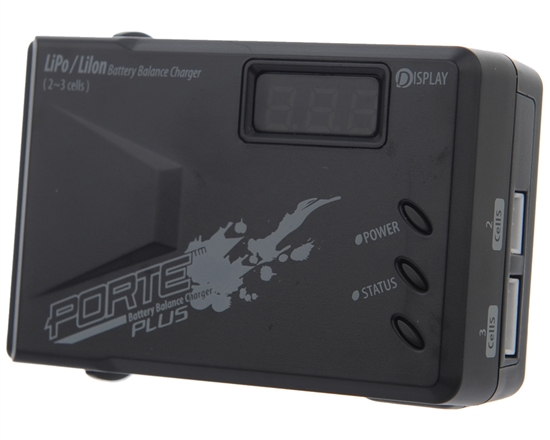 Porte LiPo/Li-Ion Balance Battery Charger Plus