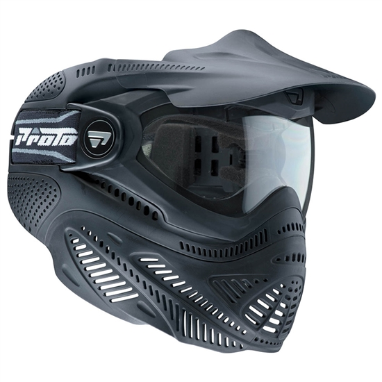 Proto Tactical Switch FS Full Face Airsoft Mask - Black