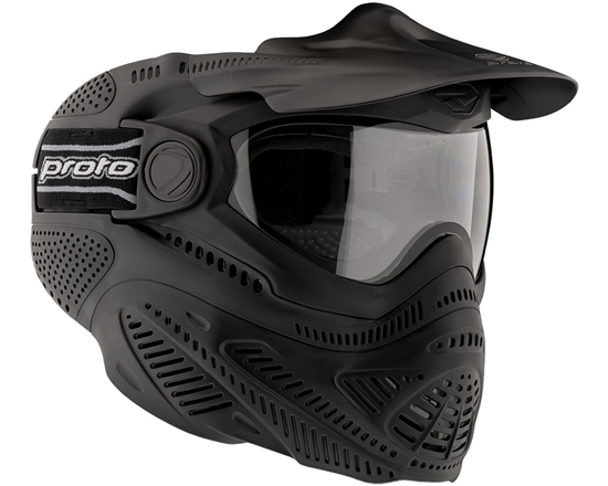 Proto Tactical Switch FS Full Face Thermal Airsoft Mask - Black