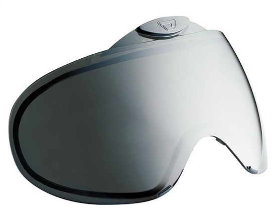 Proto/Dye Dual Pane Anti-Fog Ballistic Rated Thermal Lens For Switch FS/EL Masks (Chrome Mirror)