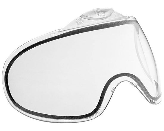 Proto/Dye Dual Pane Anti-Fog Ballistic Rated Thermal Lens For Switch FS/EL Masks (Clear)