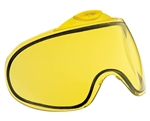 Proto/Dye Dual Pane Anti-Fog Ballistic Rated Thermal Lens For Switch FS/EL Masks (Yellow)