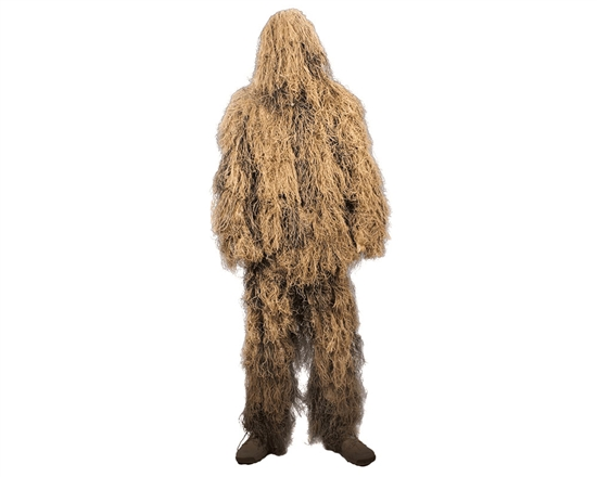 Rothco Lightweight All Purpose Tactical Airsoft Ghillie Suit - Desert