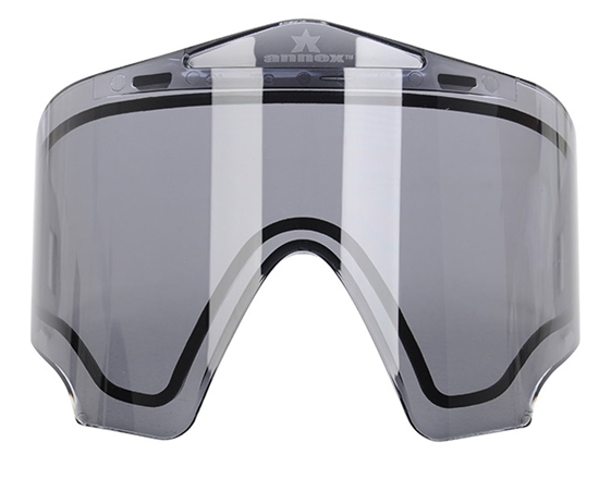 Valken Dual Pane Anti-Fog Ballistic Rated Thermal Lens For Annex Masks (Smoke)