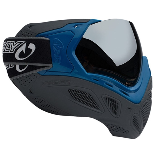 Sly Tactical Profit Full Face Airsoft Mask - Blue/Grey