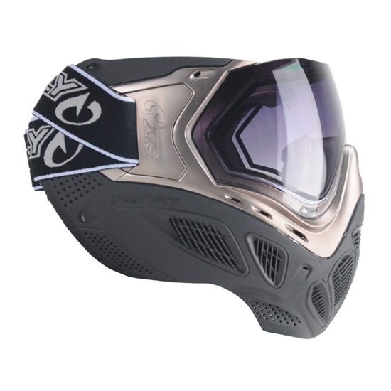 Sly Tactical Profit Full Face Airsoft Mask - Silver