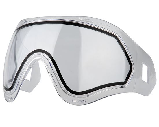 Valken Dual Pane Anti-Fog Ballistic Rated Thermal Lens For Identity/Profit Masks (Clear)